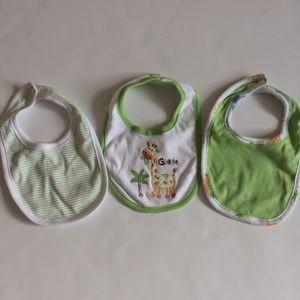 Set of 3 Baby Bibs by Carter's